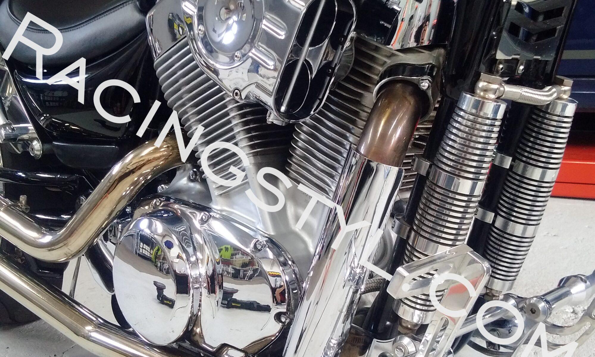 Detailing motorka